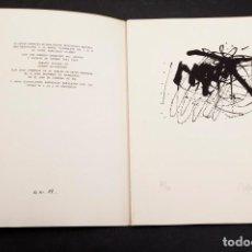 Libros de segunda mano: ANDRES VACA - POESÍAS Y LITOGRAFÍAS - 11/25. Lote 159646258