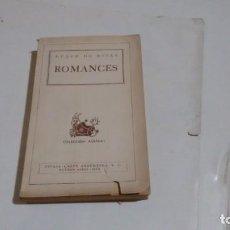 Libros de segunda mano - DUQUE DE RIVAS - ROMANCES - 160362294