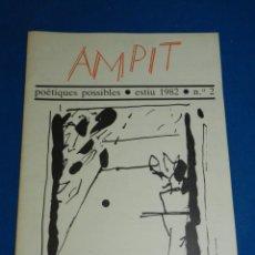 Libros de segunda mano: (M) REVISTA AMPIT POETIQUES POSSIBLES , ESTIU 1982 NUM 2 , ALBERT RAFOLS CASAMADA , MIQUEL BARCELÓ. Lote 160978830