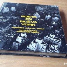 Libros de segunda mano: POETA EN NUEVA YORK., LORCA. MASPONS Y UBIÑA., LUMEN.,TUSQUETS., 1966. Lote 161556898