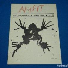 Libros de segunda mano: (M) REVISTA AMPIT POETIQUES POSSIBLES 1984 NUM 11 FEDERIC AMAT , A RAFOLS CASAMADA. Lote 161691346