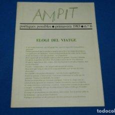 Libros de segunda mano: (M) REVISTA AMPIT POETIQUES POSSIBLES 1983 NUM 6 MARIA GIRONA , AÑBERT RAFOLS CASAMADA. Lote 161691914