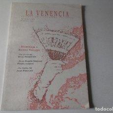 Libros de segunda mano: LA VENENCIA (REVISTA DE POESÍA) Nº 1.- VARIOS AUTORES. Lote 161696918