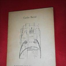 Libros de segunda mano: CARLOS BARRAL, METROPOLITANO 1 EDICIÓN 1957. Lote 161852594