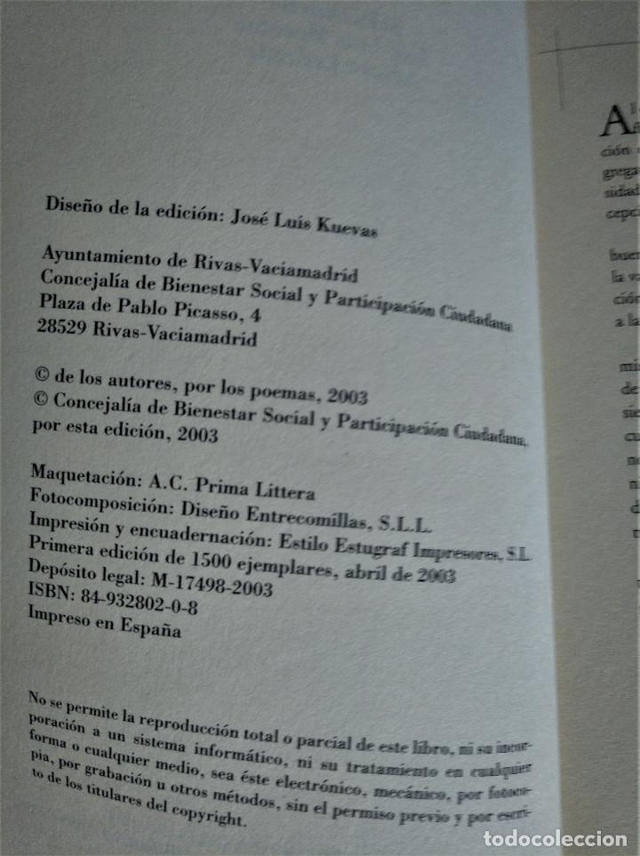 Libros de segunda mano: Entonces, Ahora, VVAA, Antología, 2003 - Foto 3 - 162018918