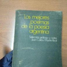 Libros de segunda mano - LOS MEJORES POEMAS DE LA POESÍA ARGENTINA - 162352602