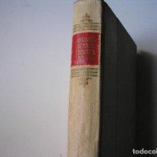 Libros de segunda mano: ANTOLOGIA DE POESIA ESPAÑOLA 1955-56.- AGUILAR, 1956. Lote 163446294