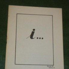 Libros de segunda mano: I..... , DE SALVADOR VIDAL ABELLO - 1981. Lote 163587930