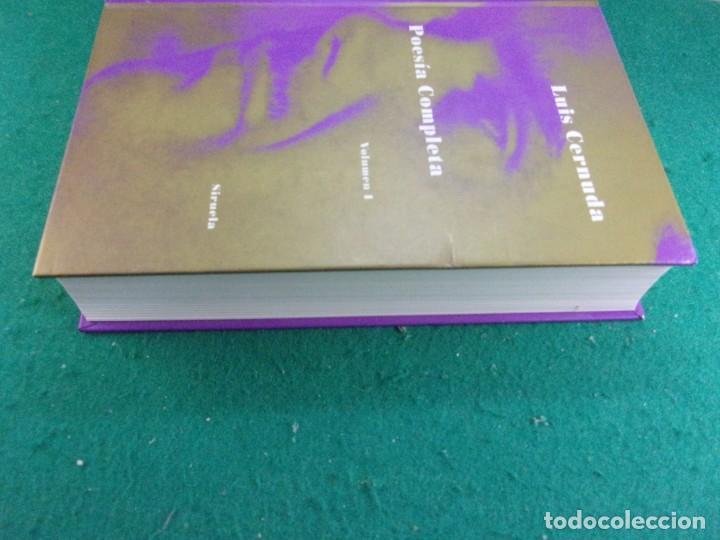 Libros de segunda mano: POESÍA COMPLETA. Vol-1 / Luis Cernuda / 1993. Siruela - Foto 7 - 163743906