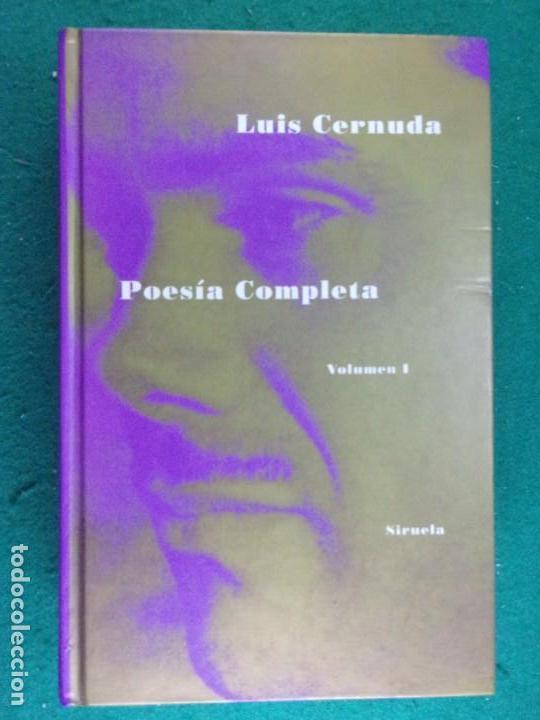 POESÍA COMPLETA. VOL-1 / LUIS CERNUDA / 1993. SIRUELA (Libros de Segunda Mano (posteriores a 1936) - Literatura - Poesía)
