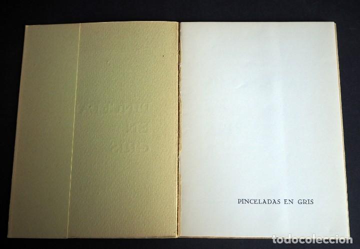 Libros de segunda mano: PINCELADAS EN GRIS. Mª DEL CARMEN FERRER MERLO. POEMAS EN PROSA. 1970 - Foto 2 - 163863202
