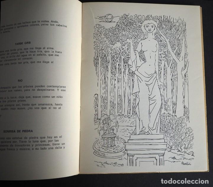 Libros de segunda mano: PINCELADAS EN GRIS. Mª DEL CARMEN FERRER MERLO. POEMAS EN PROSA. 1970 - Foto 4 - 163863202