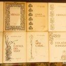 Libros de segunda mano: 10 OBRES POESIA ELVIRA CARTAÑA DEDICADES PER L'AUTORA, ATENEU BARCELONÉS, LEANDRE AMIGÓ 1982. Lote 164646966