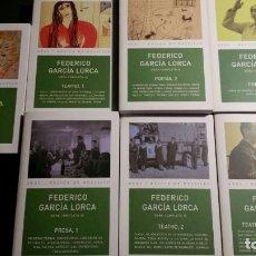 Libros de segunda mano: GARCÍA LORCA, FEDERICO: OBRA COMPLETA (EDICIÓN COMPLETA EN 7 VOLS.) (AKAL). Lote 164863126