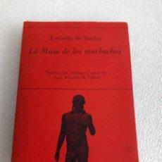 Libros de segunda mano: LA MUSA DE LOS MUCHACHOS - ESTRATÓN DE SARDES HIPERION POESIA. Lote 164904446