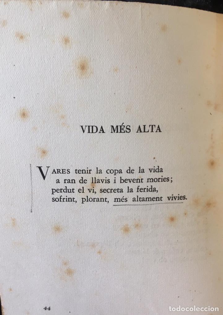 Libros de segunda mano: JOAN VINYOLI - LES HORES RETROBADES - 1 EDICIO- TIRATGE DE 400 EXEMPLARS, OSSA MENOR 1951 - Foto 3 - 165203616