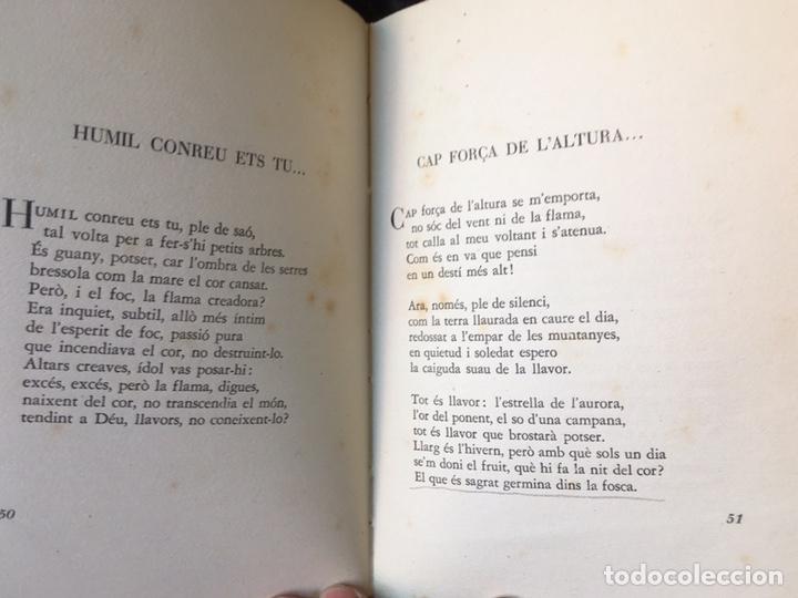 Libros de segunda mano: JOAN VINYOLI - LES HORES RETROBADES - 1 EDICIO- TIRATGE DE 400 EXEMPLARS, OSSA MENOR 1951 - Foto 5 - 165203616