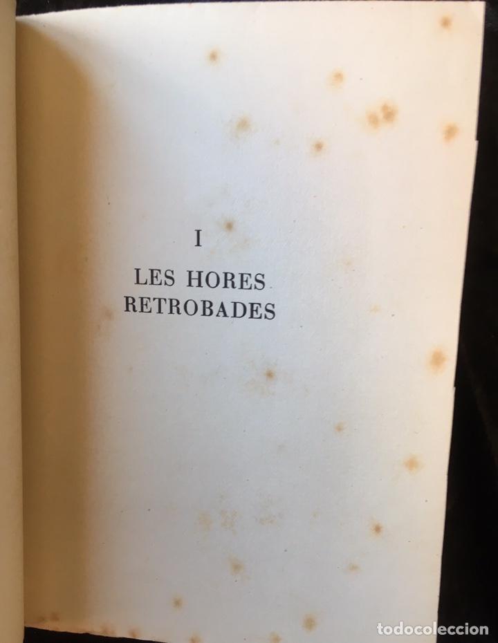 Libros de segunda mano: JOAN VINYOLI - LES HORES RETROBADES - 1 EDICIO- TIRATGE DE 400 EXEMPLARS, OSSA MENOR 1951 - Foto 6 - 165203616