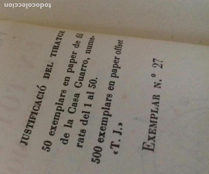 Libros de segunda mano: EN TOT LLOC I EN TOT MOMENT. FRANCESC DE B. LLADÓ. EDITORIAL ESTEL 1952.SIN ABRIR.EJEMPLAR 27 DE 50. - Foto 4 - 166183414