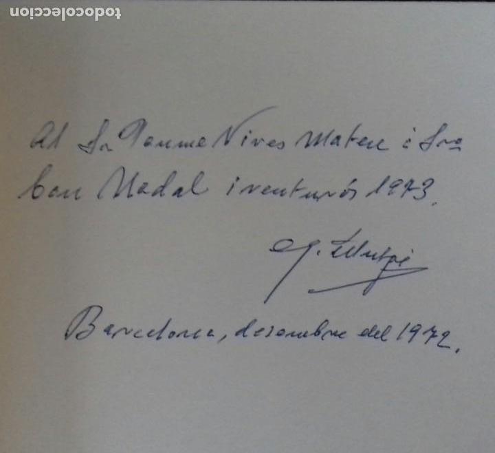 Libros de segunda mano: GOIGS I NADALS. GUERAU MUTGÉ. BARCELONA 1972. DEDICADO POR EL AUTOR. - Foto 2 - 166183902