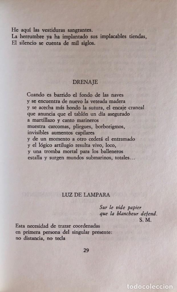 Libros de segunda mano: POETAS ESPAÑOLES POSCONTEMPORANEOS. EL BARDO, COLECCIONDE POESIA. BARCELONA, 1974. - Foto 2 - 166297882