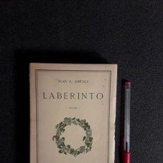 Libros de segunda mano: (POESÍA ESPAÑOLA) JIMENEZ, JUAN R.. LABERINTO –1910-1911--.. Lote 166496978