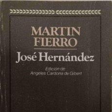 Libros de segunda mano: MARTIN FIERRO. Lote 167103252