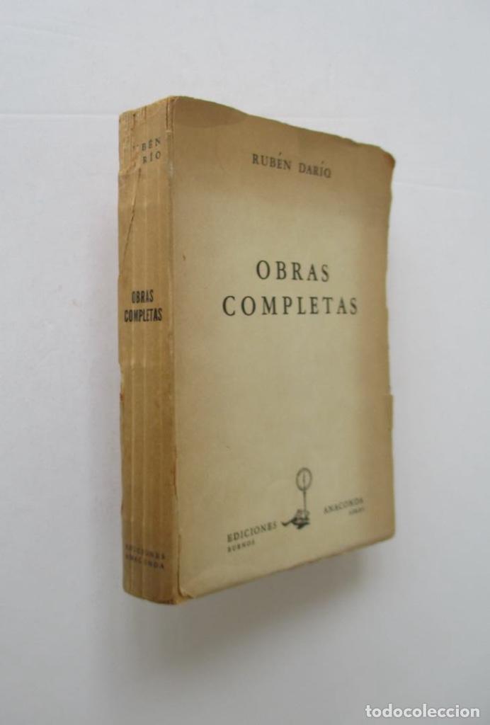 Libros de segunda mano: OBRAS COMPLETAS - RUBEN DARIO - Foto 5 - 167776212