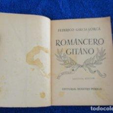 Libros de segunda mano: ROMANCERO GITANO FEDERICO GARCIA LORCA SEGUNDA EDICION. Lote 167988840