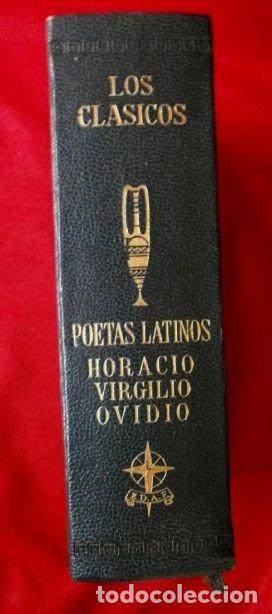POETAS LATINOS (EDAF 1967) VIRGILIO - HORACIO - OVIDIO - COLECCIÓN LOS CLASICOS (Libros de Segunda Mano (posteriores a 1936) - Literatura - Poesía)