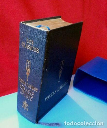 Libros de segunda mano: POETAS LATINOS (EDAF 1967) VIRGILIO - HORACIO - OVIDIO - Colección LOS CLASICOS - Foto 2 - 222396642