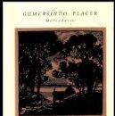 Libros de segunda mano: GUMERSINDO PLACER. D'O MAR E D'A TERRA. POESIAS GALLEGAS DE FCO. Mª DE LA IGLESIA. GALICIA.. Lote 168089160