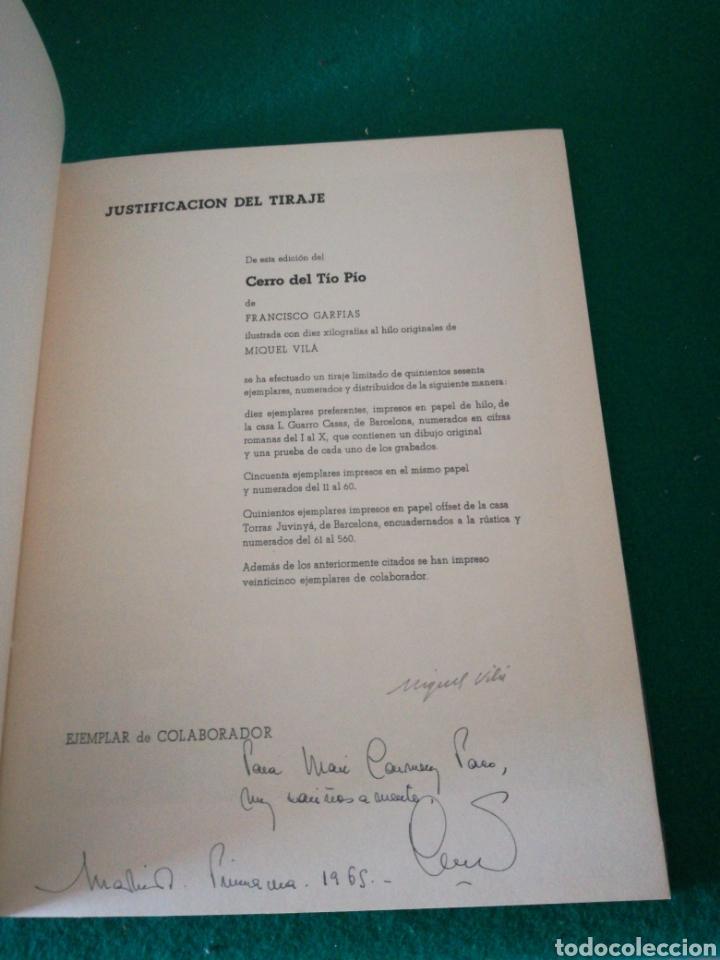 Libros de segunda mano: F.GARFIAS CERRO DEL TIO PIO - Foto 6 - 168284518