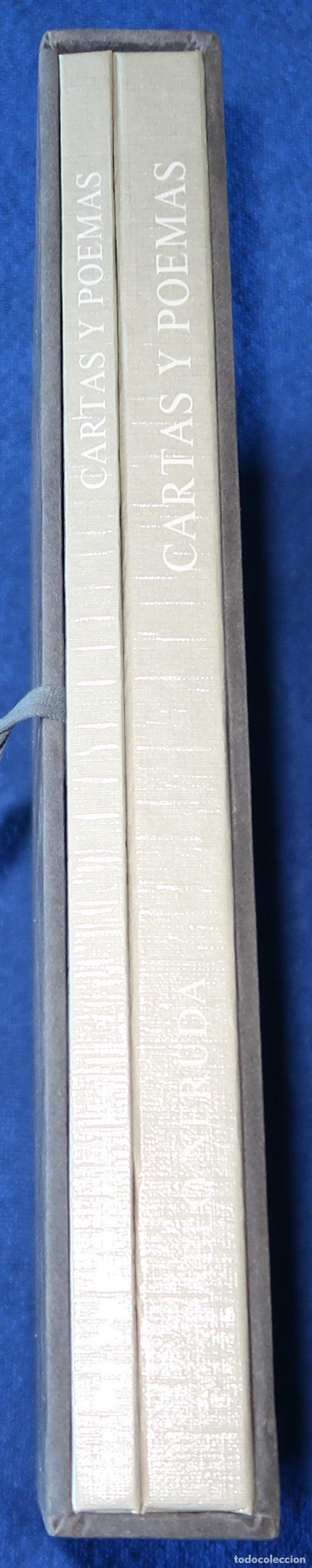 Libros de segunda mano: Cartas y Poemas - Pablo Neruda - Banco Exterior de España - Edición Limitada y numerada (1990) - Foto 2 - 168384400