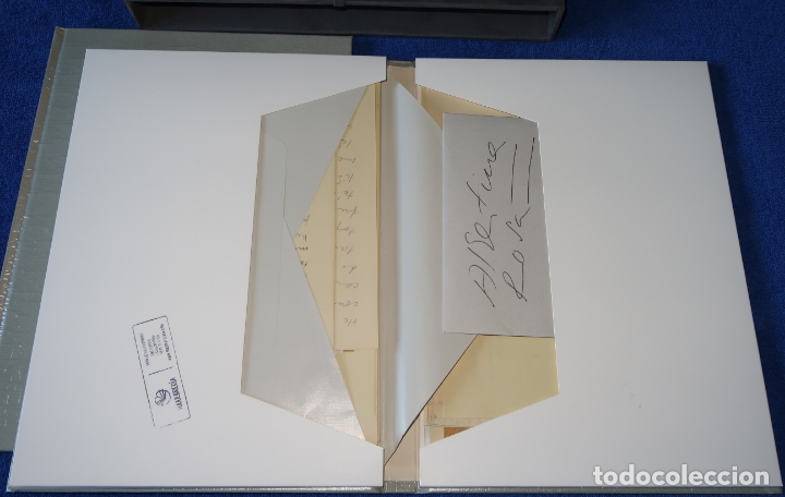 Libros de segunda mano: Cartas y Poemas - Pablo Neruda - Banco Exterior de España - Edición Limitada y numerada (1990) - Foto 3 - 168384400