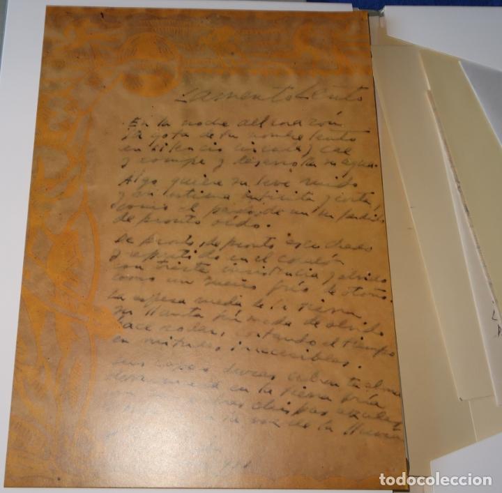 Libros de segunda mano: Cartas y Poemas - Pablo Neruda - Banco Exterior de España - Edición Limitada y numerada (1990) - Foto 4 - 168384400
