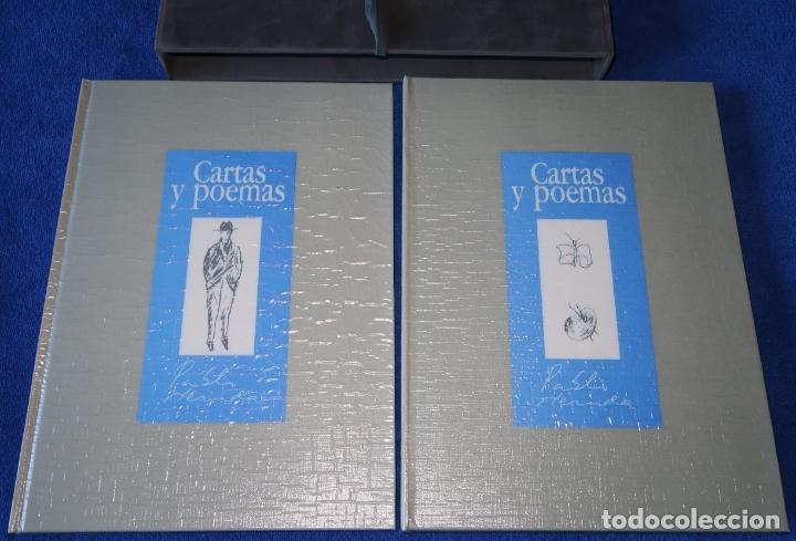 CARTAS Y POEMAS - PABLO NERUDA - BANCO EXTERIOR DE ESPAÑA - EDICIÓN LIMITADA Y NUMERADA (1990) (Libros de Segunda Mano (posteriores a 1936) - Literatura - Poesía)
