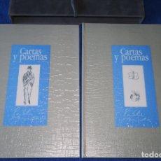 Libros de segunda mano: CARTAS Y POEMAS - PABLO NERUDA - BANCO EXTERIOR DE ESPAÑA - EDICIÓN LIMITADA Y NUMERADA (1990). Lote 168384400