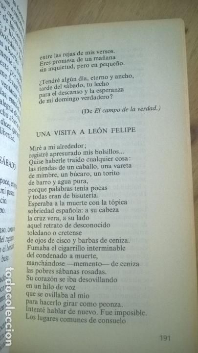 Libros de segunda mano: LIRICA ESPAÑOLA DE HOY. JOSE LUIS CANO. CATEDRA. - Foto 6 - 58069156