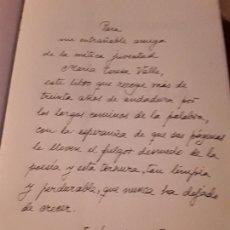 Libros de segunda mano: OBRA POÉTICA 1966-1996, DE JUSTO JORGE PADRON. DEDICATORIA AUTOR. CANARIAS. ESPAÑOL-PORTUGUES.. Lote 168513404