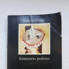 Libros de segunda mano: ITINERARIO POÉTICO GABRIEL CELAYA. Lote 168873404