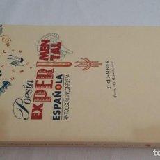 Libros de segunda mano: POESÍA EXPERIMENTAL ESPAÑOLA - LÓPEZ GRADOLÍ, ALFONSO -ANTOLOGÍA INCOMPLETA - CALAMBUR. Lote 169113053