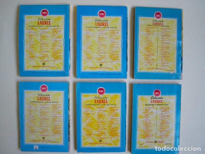 Libros de segunda mano: 6 LIBROS DE LA COLECCIÓN LAUREL Nº 7, 9, 11, 14, 25 Y 32, SUS MEJORES POESÍAS - BRUGUERA 1955-1961 - Foto 2 - 169222300