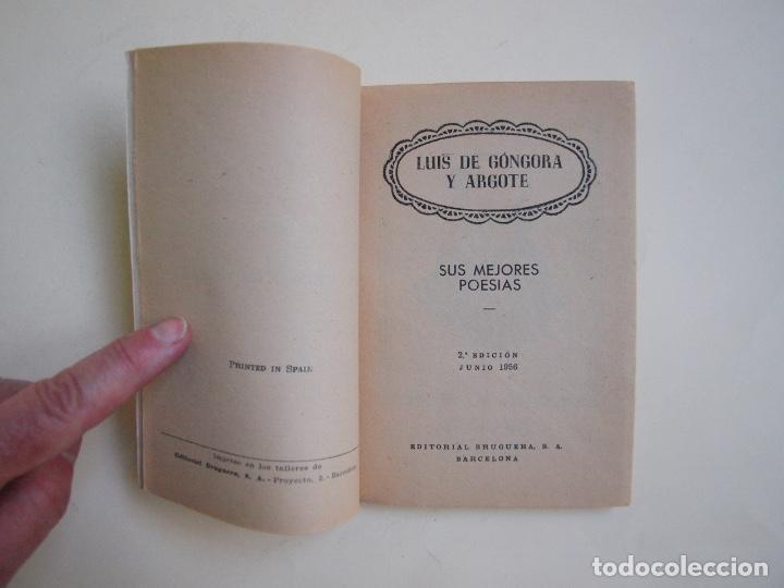 Libros de segunda mano: 6 LIBROS DE LA COLECCIÓN LAUREL Nº 7, 9, 11, 14, 25 Y 32, SUS MEJORES POESÍAS - BRUGUERA 1955-1961 - Foto 8 - 169222300
