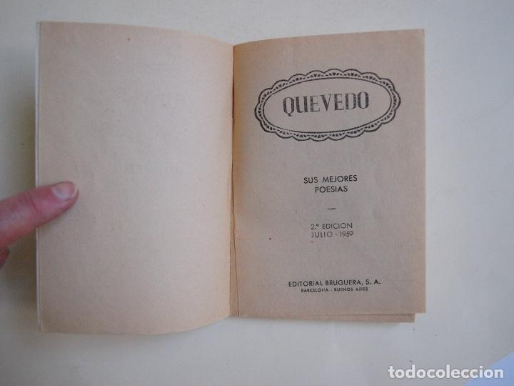 Libros de segunda mano: 6 LIBROS DE LA COLECCIÓN LAUREL Nº 7, 9, 11, 14, 25 Y 32, SUS MEJORES POESÍAS - BRUGUERA 1955-1961 - Foto 10 - 169222300
