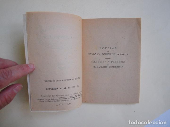 Libros de segunda mano: 6 LIBROS DE LA COLECCIÓN LAUREL Nº 7, 9, 11, 14, 25 Y 32, SUS MEJORES POESÍAS - BRUGUERA 1955-1961 - Foto 11 - 169222300