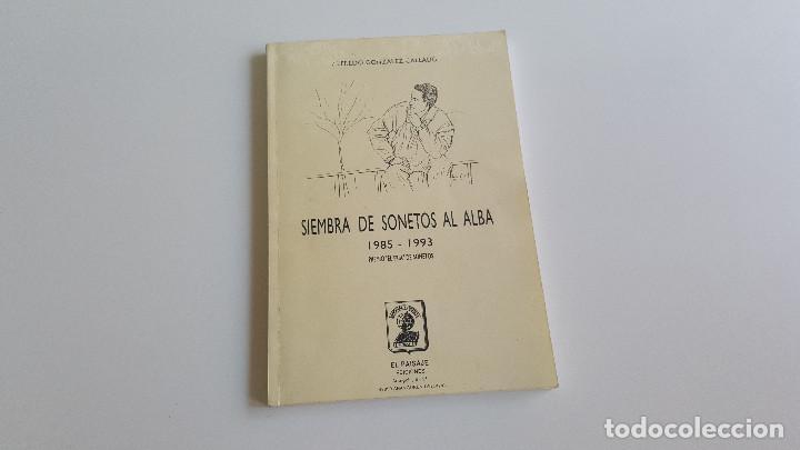 SIEMBRA DE SONETOS AL ALBA (Libros de Segunda Mano (posteriores a 1936) - Literatura - Poesía)