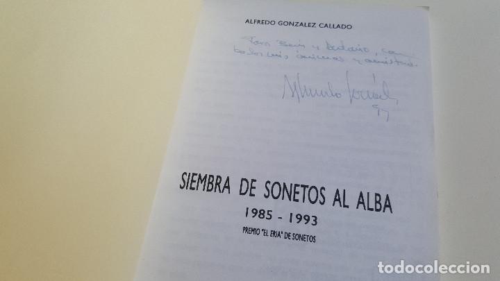 Libros de segunda mano: SIEMBRA DE SONETOS AL ALBA - Foto 2 - 169223048