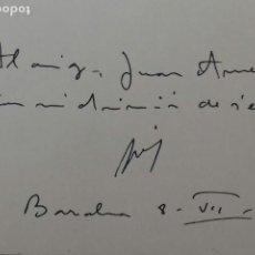 Libros de segunda mano: LAS ISLAS NOS LLAMABAN. JOAQUIN BUXO MONTESINOS.1964. FIRMADO POR EL AUTOR.. Lote 169356044