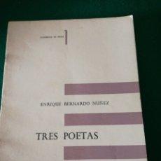 Libros de segunda mano: CIADERNO DE PROSA ENRIQUE BERNARDO NUÑEZ. Lote 170207096